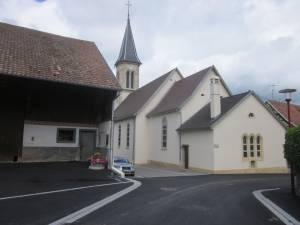 Kirche Muespach le Haut