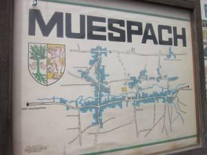 Ortsplan von Muespach