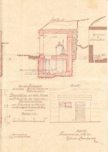 Pumpenhaus Seitenansicht