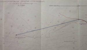 Plan Teil 1 ab Brunnenstube Krähenhardtbrunnen bis Harzhüttebrunnen