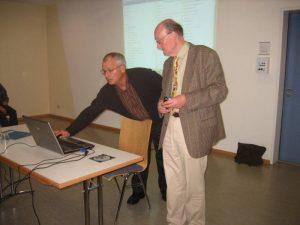 Dr. Jürgen Wurster und Hans Rehberg