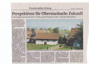 Schwarzwälder Bote 17 Okt 2006