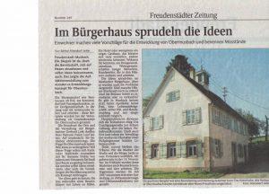 Schwarzwälder Bote 27 Okt 2006