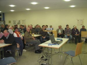 Veranstaltung Dr. Wurster Vortragspult
